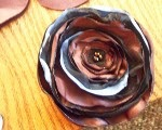Flores de tela fáciles