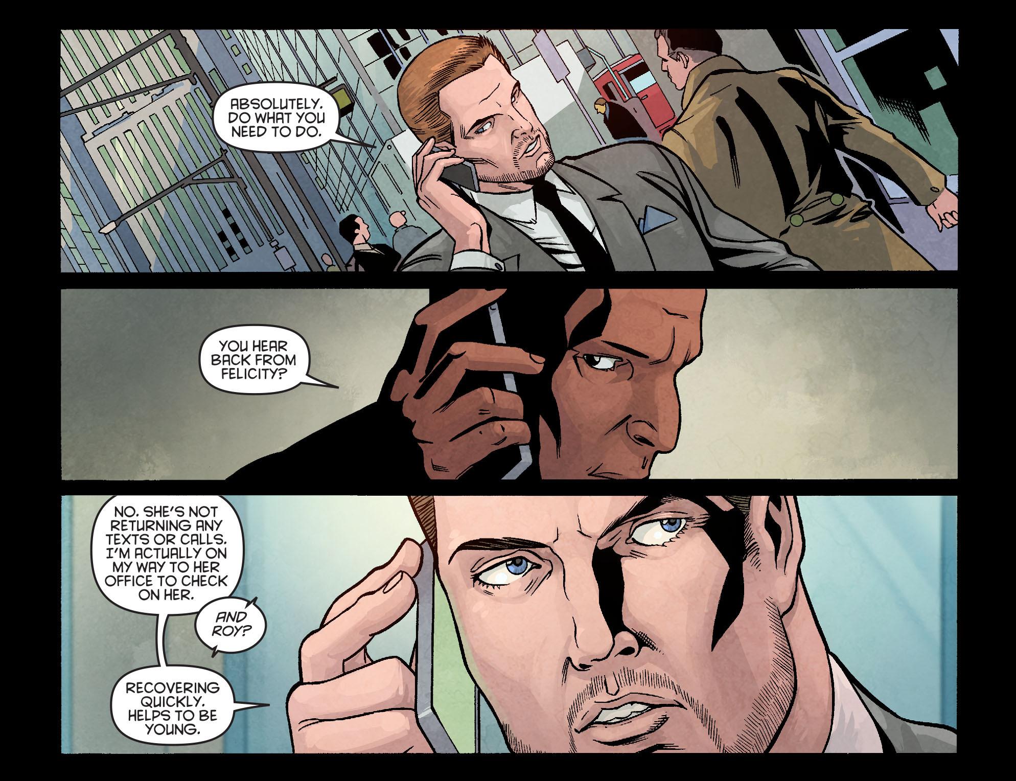 Read online Arrow: Season 2.5 [I] comic -  Issue #10 - 13