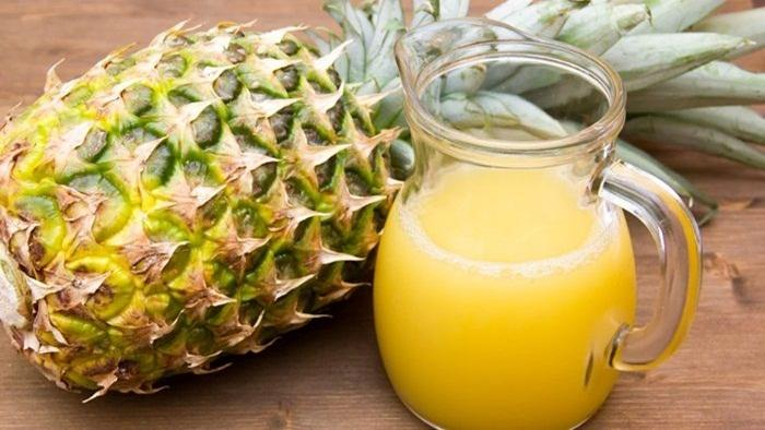 Jus nanas lemon untuk diet detox
