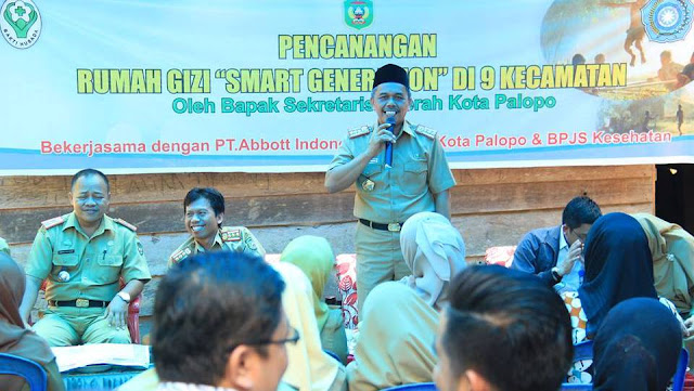 Palopo Bangun Rumah Gizi Smart Generation