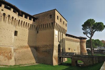 Rocca Albornoziana  fortress of Forlimpopoli, Emilia-Romagna.