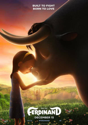 Poster of Ferdinand 2017 Full Hindi Movie Download HDTS 1.2Gb Watch Online Free