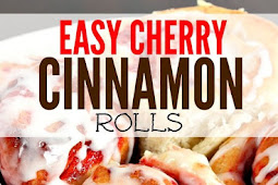 Easy Cherry Cinnamon Rolls Recipe