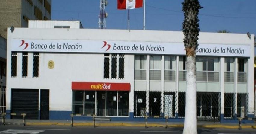 Banco de la Nación no atenderá al público hoy sábado 21 de marzo