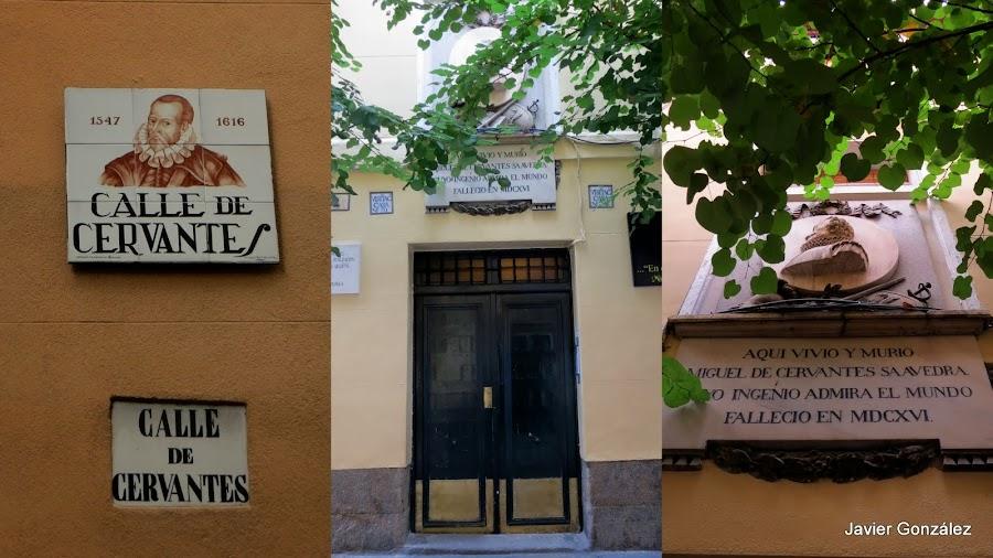 Casa de Cervantes en Madrid