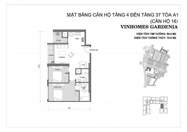 16 - Tòa A1 Vinhomes Gardenia
