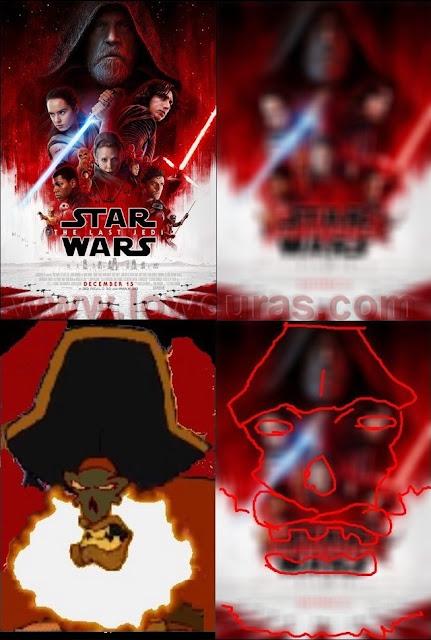 l'immagine originale che svela il volto del pirata