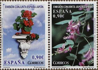 EMISIÓN CONJUNTA ESPAÑA - JAPÓN