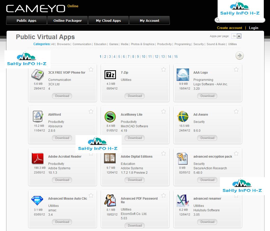 موقع يضم عدد هائل جدا من البرامج المحمولة والمشهورة للتحميل