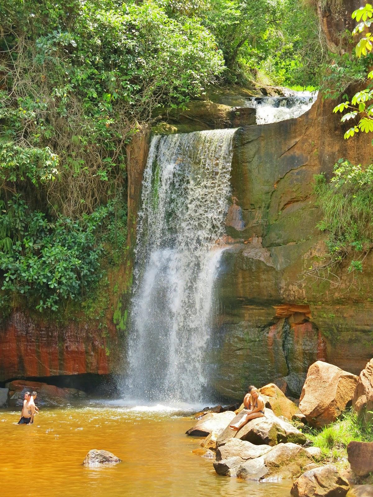 Cachoeira dos Namorados, na Chapada dos Guimarães