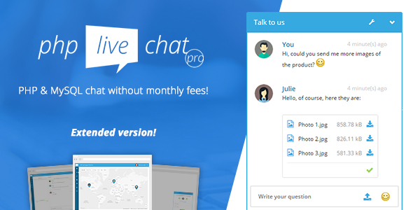 PHP Live Chat Pro with Purchase Code | Nulled Buzz