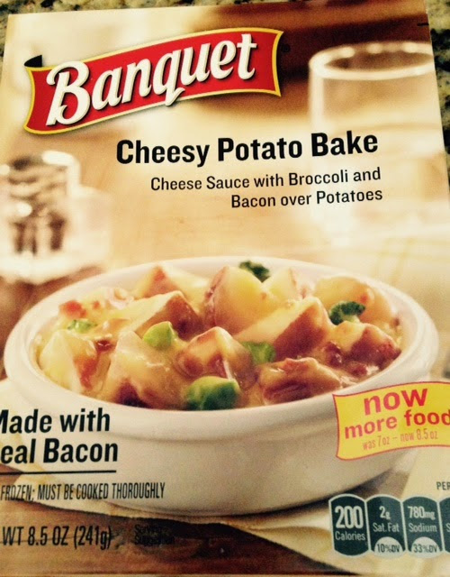 Watching My Weight with Weight Watchers: New Food Find: Banquet Cheesy Potato Bake