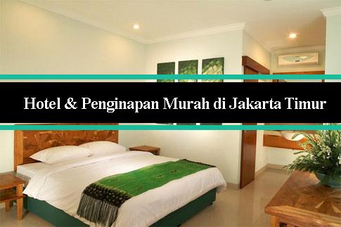 Tarif Hotel Murah di Jakarta Timur rate 100 ribuan