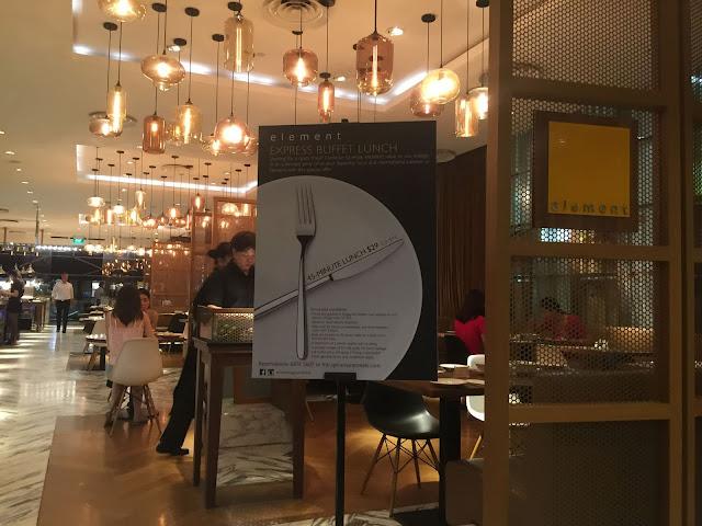 Element Amara Hotel Storefront