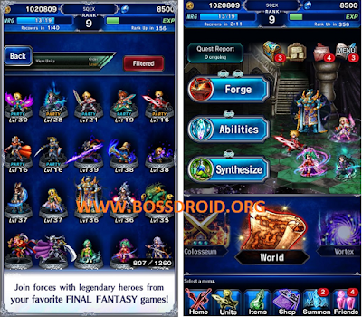 Download Game Final Fantasy Brave Exvius Mod