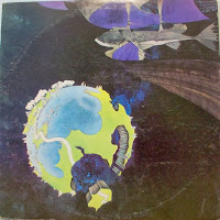 Yes fragile Back Record Cover