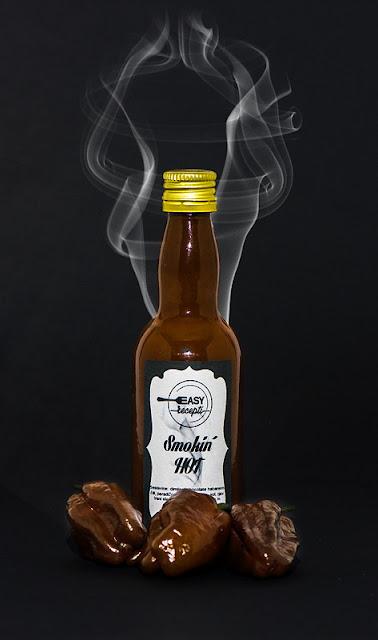 Domača čili omaka Dimljen chocolate habanero