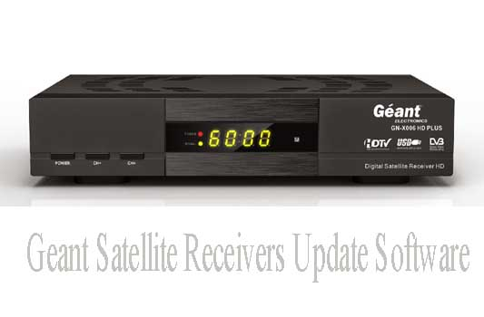 Geant Satellite Receivers Update Software,Firmware Download