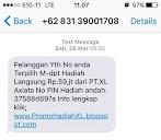 Cara Melaporkan SMS Penipuan Khusus Pengguna XL