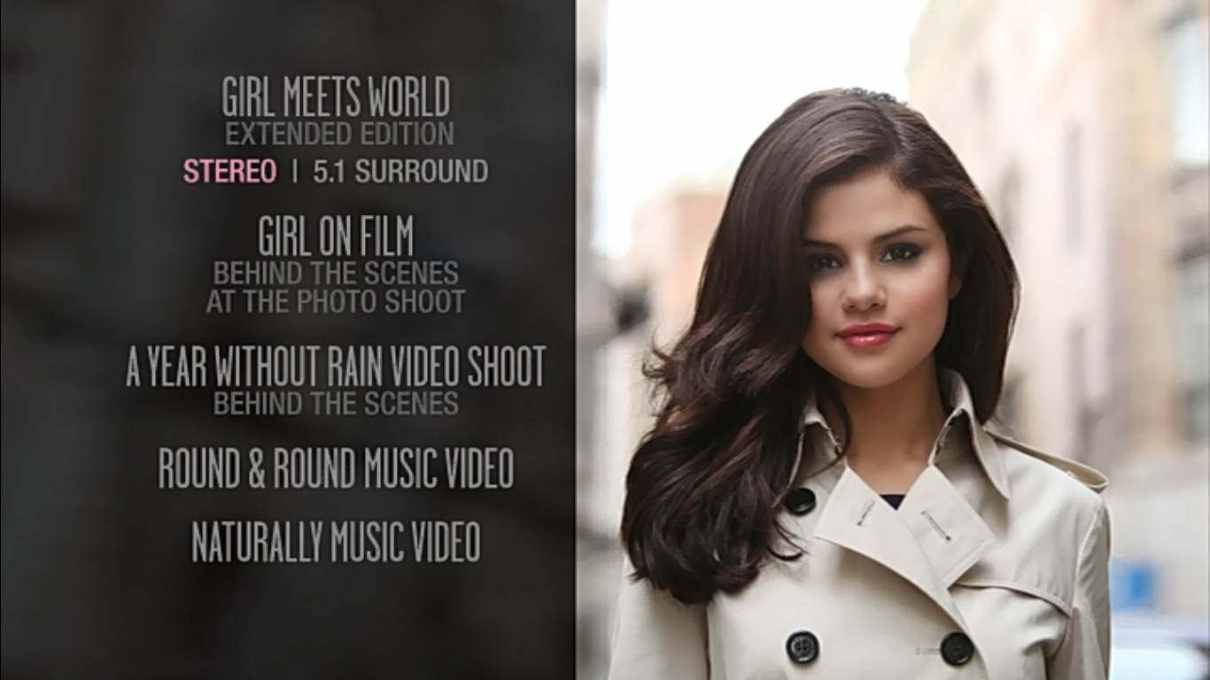 music wonderland: selena gomez & the scene - a year without rain