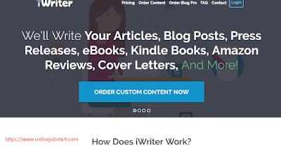 iwriter.com se paise kaise kamaye