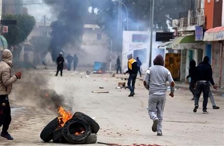 Aksi Bakar Diri Meningkat di Tunisia