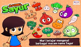 Games Terbaik Untuk Anak Bermain Dan Belajar Dengan Android marbel sayur terbaru