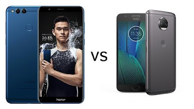 Honor 7X vs Moto G5s Plus : Which is Better?