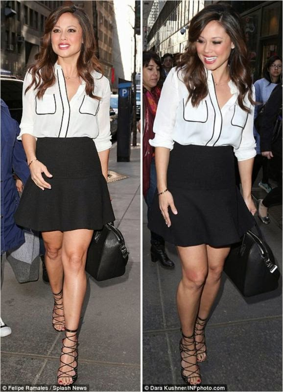 Vanessa Lachey Lovely in NYC