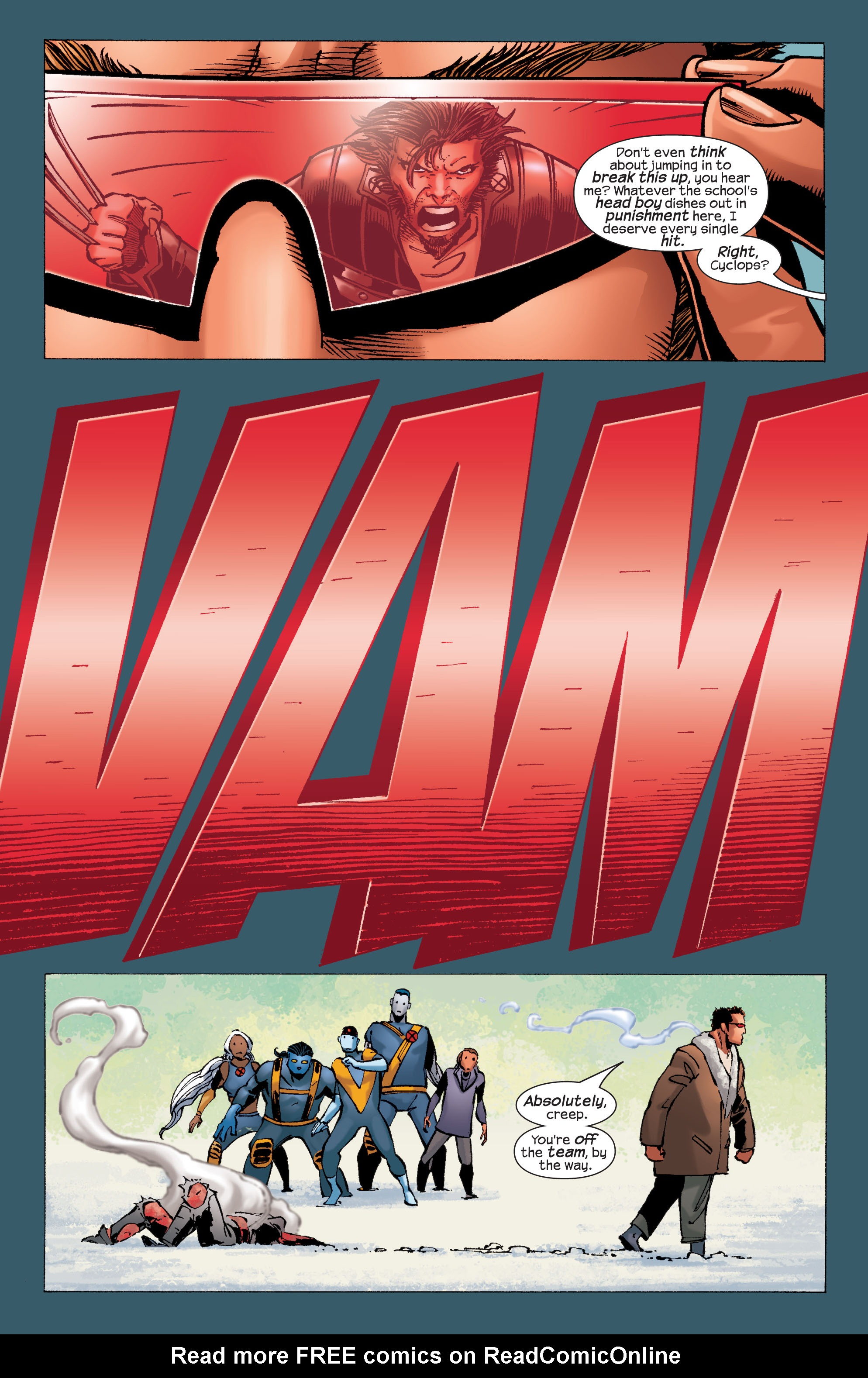 Read online Ultimate X-Men comic -  Issue #32 - 5