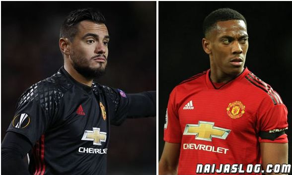 EPL: Anthony Martial can be one of the best in the world - Sergio Romero