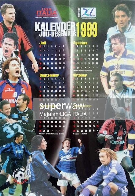 Kalender 1999 Liga Italia