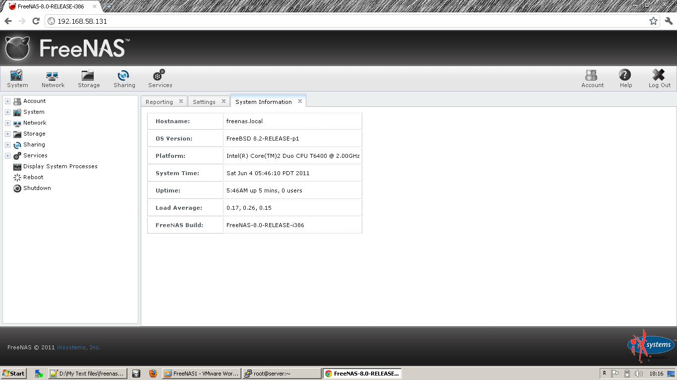 LINUX HELP ALL: How to install and configure FreeNAS storage