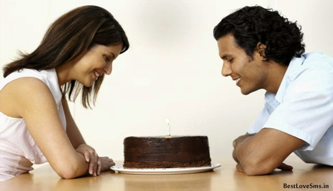 Romantic Happy Birthday Love Sms Shayari for Girlfriend Boyfriend
