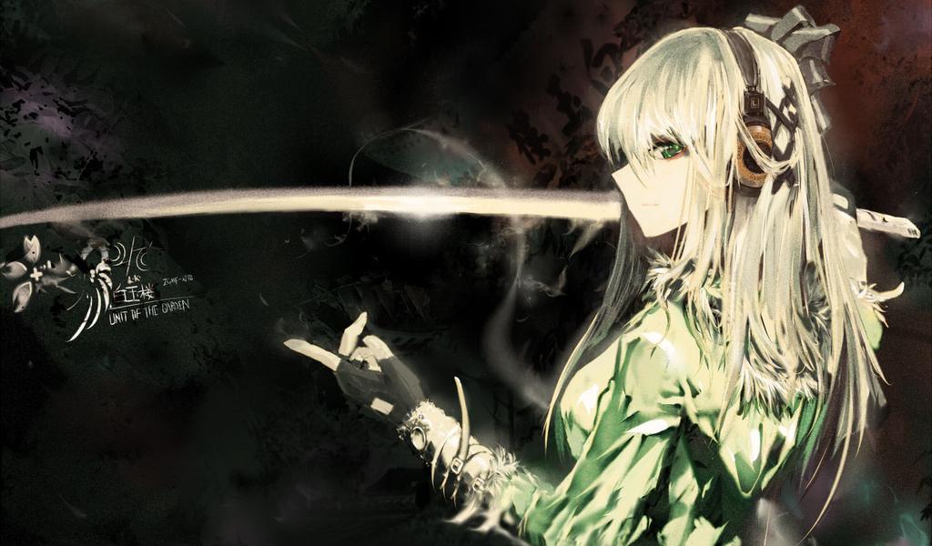 Macam macam ada samurai anime girl - Girl with sword wallpaper ...