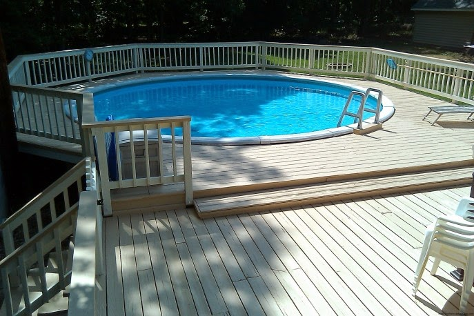 Amazing modern pool deck design for swimming pool design ideas interior design bulletin - Modern above ground pools ...