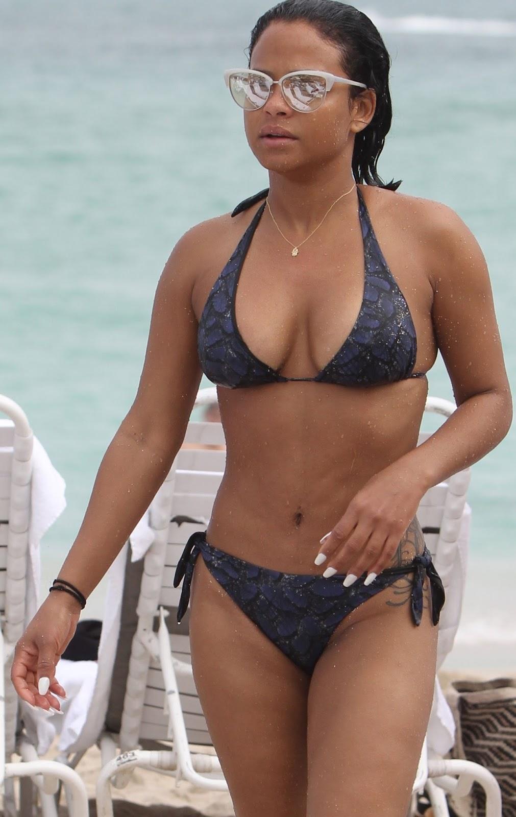 bikini Christina millian