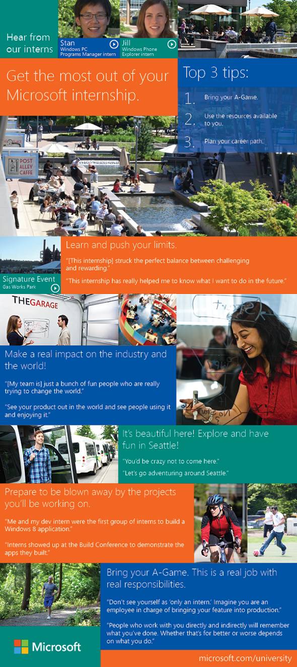 Microsoft Marketing Internship