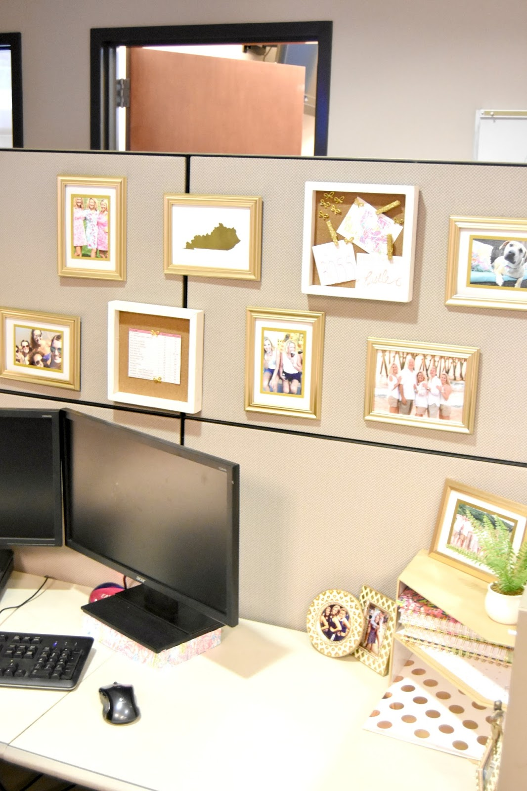 Cubicle Makeover Cute Amp Chic Cube Diy The Professional