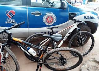 PM recupera bicicletas furtadas