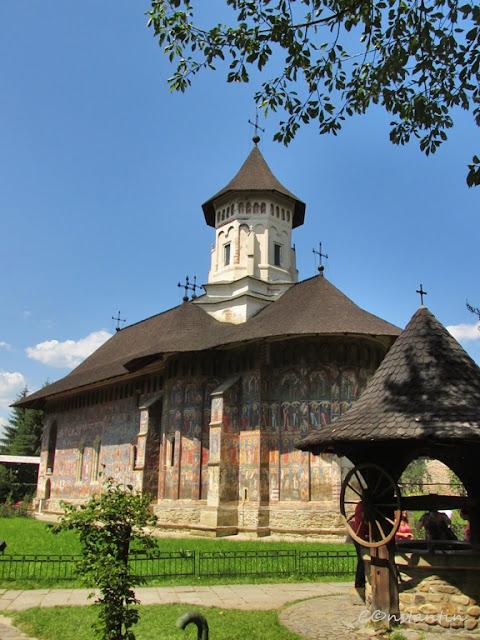 Moldoviţa - Biserica mãnãstirii - blog Foto-Ideea