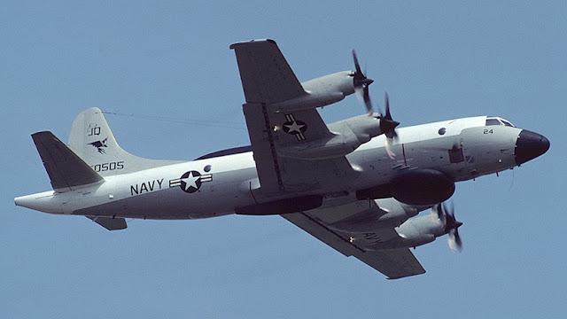 Rusia intercepta un avión espía de EE.UU. sobre el mar Negro
