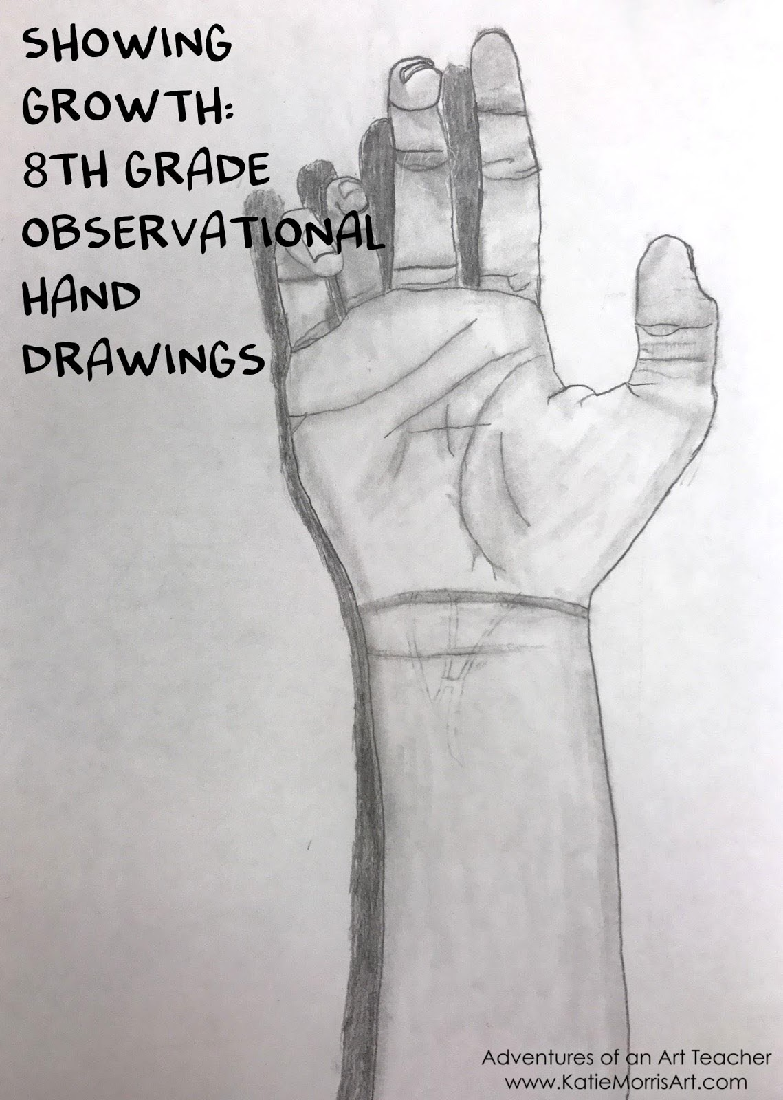 Evidence Of Growth Observational Hand Drawings Adventures