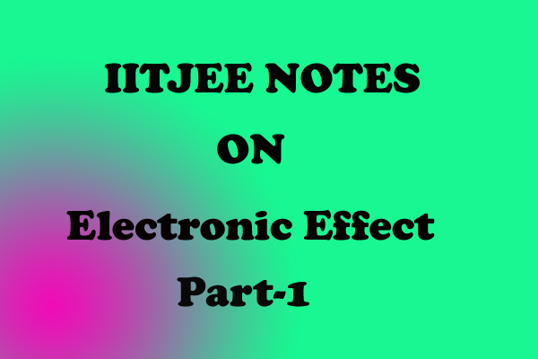 Electronic Effect