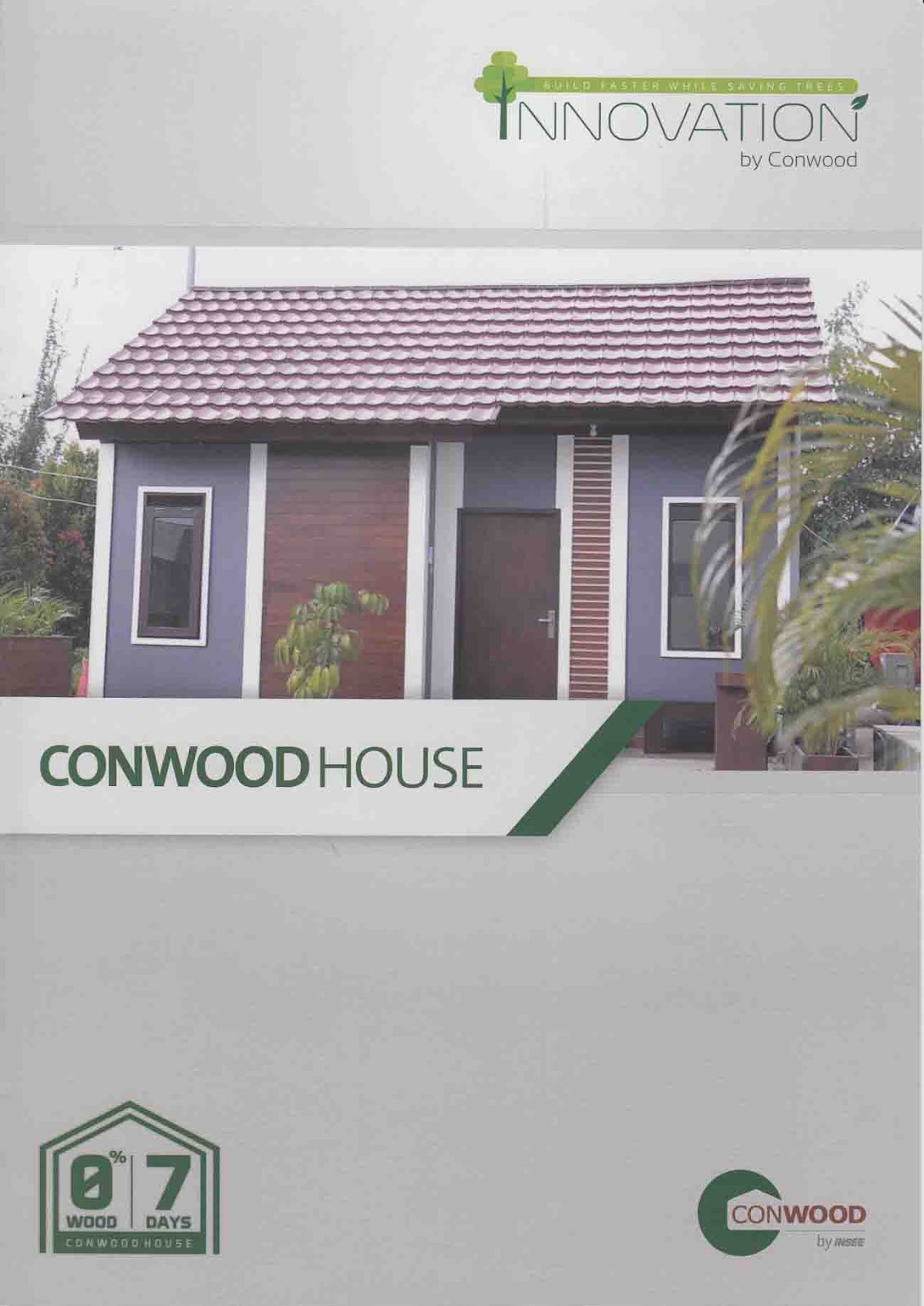 Rumah Modular Conwood House Mudah Dibangun Dan Tahan Lama Rumah