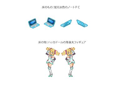 ノートPV 等身大フィギュア