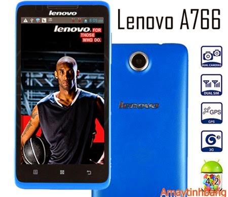 Smartphone giá rẻ lenovo A766