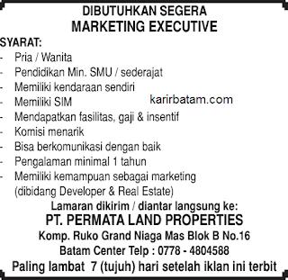 Lowongan Kerja PT. Permata Land Properties