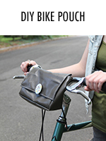 Stylishly carry around your personal belongings as you bike