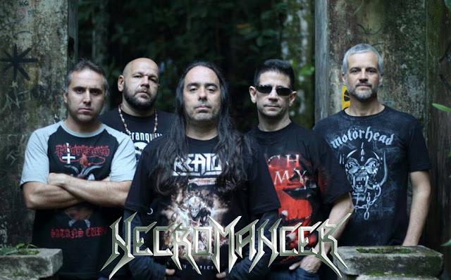 Necromancer: Aos 32 anos de sua fundação, banda abre oficialmente sua agenda de shows para 2018